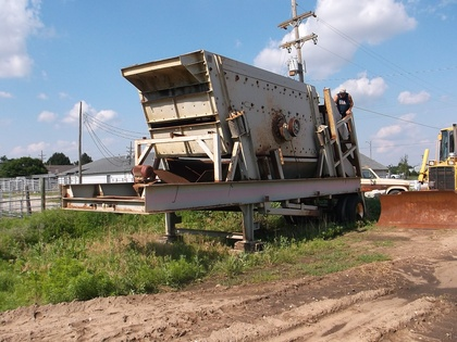 Portable Aggregate Screen