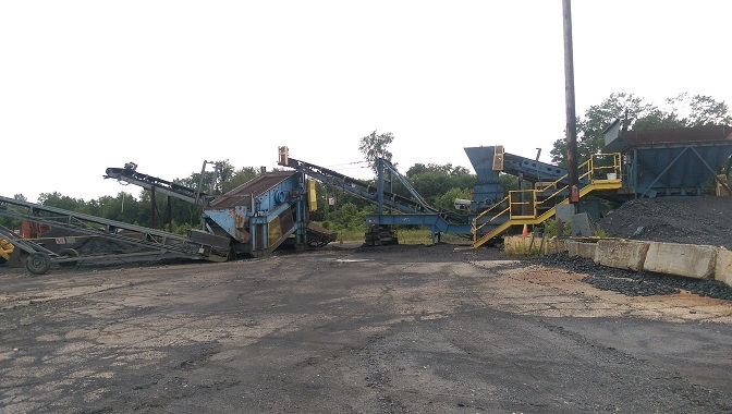 Portable Crushing Plant