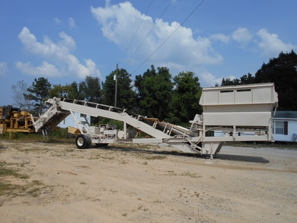 Kolberg Portable Screening Plant